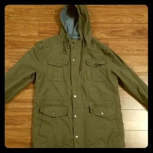 Forever 21 Men Jacket Military Army